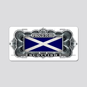Proud To Be Scottish Aluminum License Plate