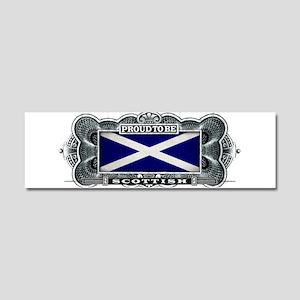 Proud To Be Scottish Car Magnet 10 x 3