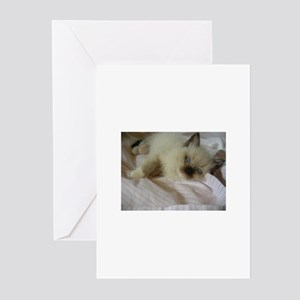 WillowTreeRags' Ragdoll  Greeting Cards (Package o