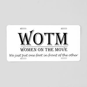 WOTMLG Aluminum License Plate