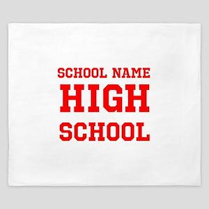High School King Duvet