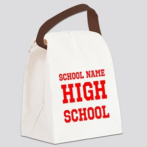 High School Canvas Lunch Bag