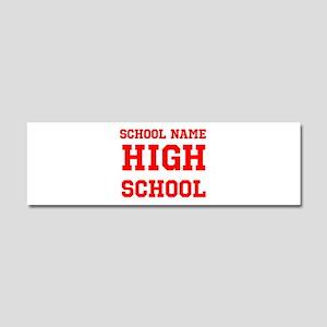 High School Car Magnet 10 x 3