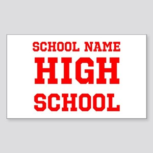 High School Sticker