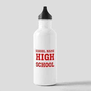 High School Water Bottle