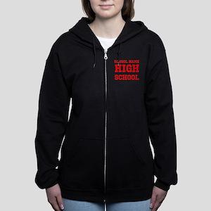 High School Women's Zip Hoodie