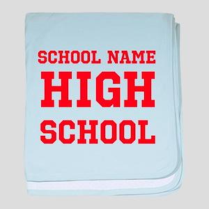 High School baby blanket