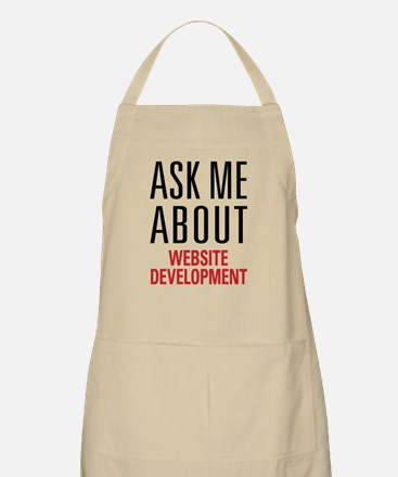 Website Development Apron