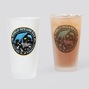 World Oceans Day Drinking Glass