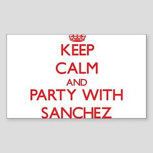 Sanchez Sticker