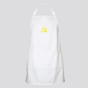 Hammer and Sickle Yellow (Dar BBQ Apron