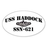 USS HADDOCK Sticker (Oval)