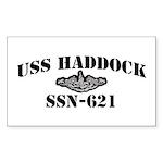 USS HADDOCK Sticker (Rectangle)