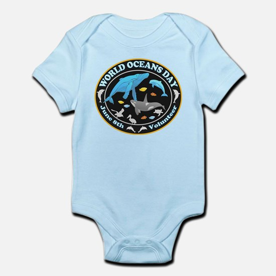 World Oceans Day Body Suit