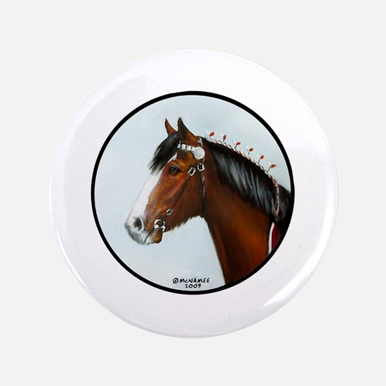 """Clydesdale 3.5"""" Button"""