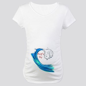 Surfs Up Maternity T-Shirt