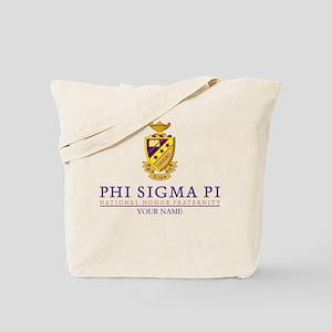 Phi Sigma Pi Crest Personalized Tote Bag