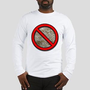 No Rice Long Sleeve T-Shirt
