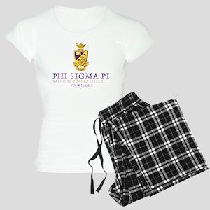 Phi Sigma Pi Crest Personal Women's Light Pajamas