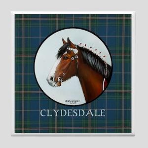Clydesdale Tile Coaster