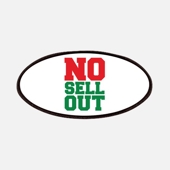 NO SELL OUT Patches