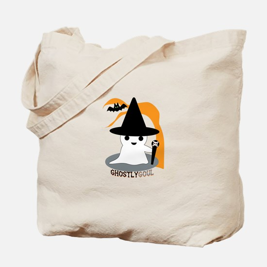 Ghostly Goul Tote Bag