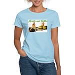 Models & Bottles Women's Light T-Shirt