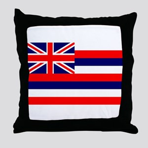 Hawaiian Flag Throw Pillow