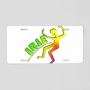 Irie Feeling Aluminum License Plate