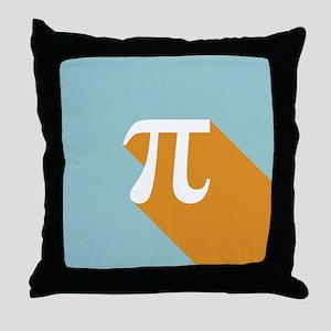 Vibrant Pi Throw Pillow