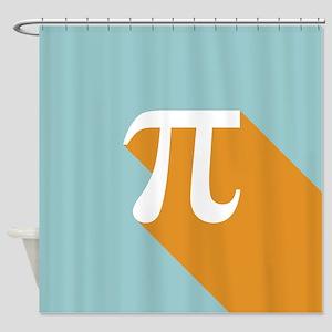 Vibrant Pi Shower Curtain