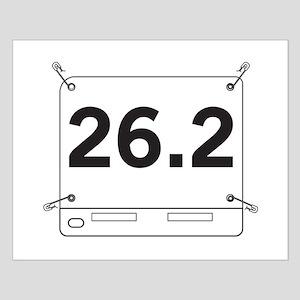 26.2 Running Shirt Tag Posters