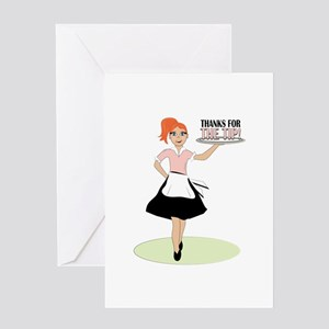 Thanks For The Tip! Greeting Cards