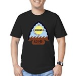 USS HASSAYAMPA Men's Fitted T-Shirt (dark)