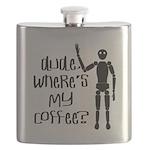 Dude-Wheres my coffee Flask