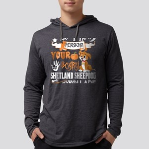 Be Person Scary Shetland Sheep Long Sleeve T-Shirt