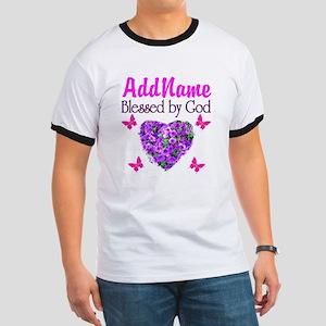 BLESSED BY GOD Ringer T