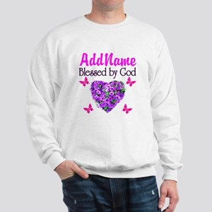 BLESSED BY GOD Sweatshirt