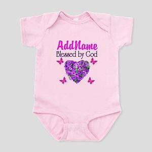 BLESSED BY GOD Infant Bodysuit