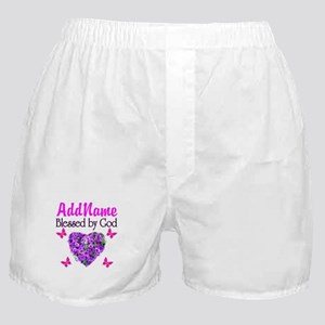 BLESSED BY GOD Boxer Shorts