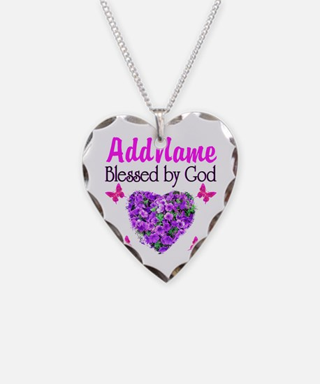 BLESSED BY GOD Necklace