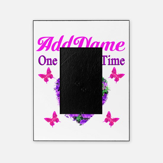 ONE DAY AT A TIME Picture Frame