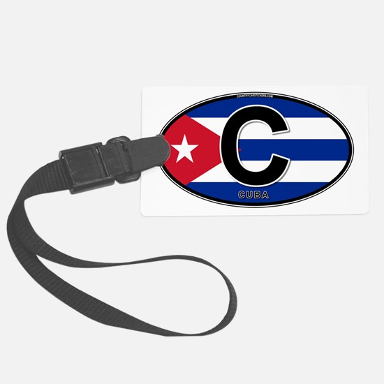 c-oval-colors.png Luggage Tag