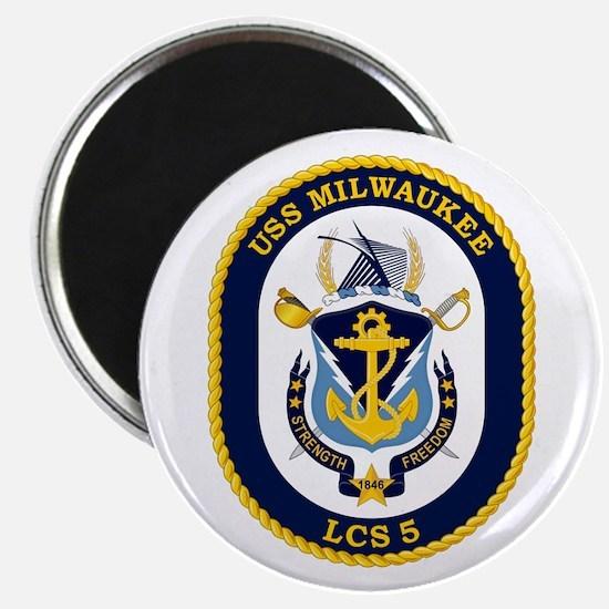 USS Milwaukee LCS-5 Magnet