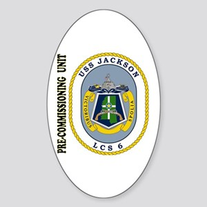 PCU Jackson LCS-6 Sticker (Oval)