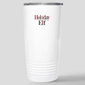 Holiday Elf Travel Mug