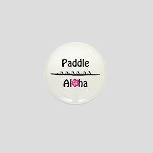 Paddle Aloha Wahine Mini Button