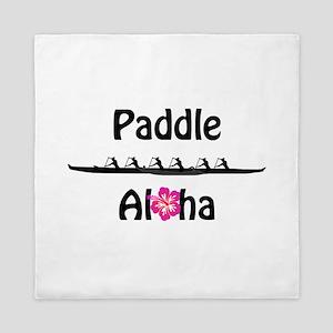 Paddle Aloha Wahine Queen Duvet