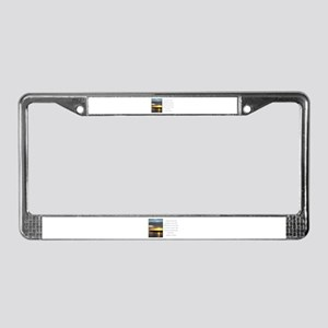 Martin Luther Nature quote License Plate Frame