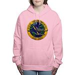 USS HAYNSWORTH Women's Hooded Sweatshirt
